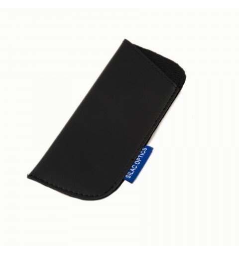 LEATHER BLACK POUCH